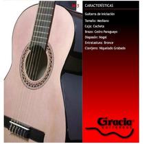 Guitarra Clásica Gracia Modelo M5 Con Funda Acolchada