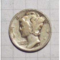Estados Unidos 1 Dime Plata 1941