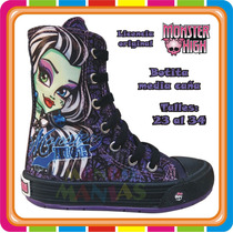 Zapatillas Botitas Monster High - Originales - Mundo Manias
