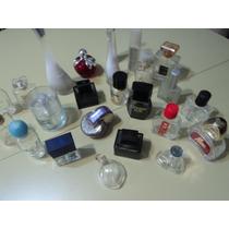 Lote Francos De Perfumes Vacios Importados Y Nacionales