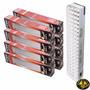 Pack X 8 Luces Emergencia 60 Leds Envio Gratis Local 1 Año G