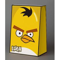 Bolsitas Golosineras Angry Birds Personalizadas Para Cumples