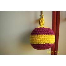 Colgantes Moviles- Pelotas Tejidas Al Crochet