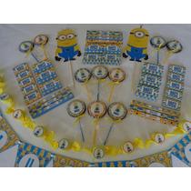 Candy Bar Minions Mi Villano Favorito Golosinas Para 10