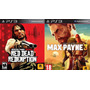 Red Dead Redemption + Max Payne 3 Ps3 Tarjeta Digital