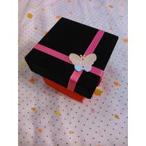 Cajas Pintadas/bombones/souvenir/cumpleaños Bautismos 15años