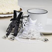 Cajas/souvenir Bolsas Traje Novios Tul/bodas/aniversarios