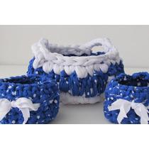 Souvenir Crochet Canasta Varias! Estamos En Zona Sur Y Oeste