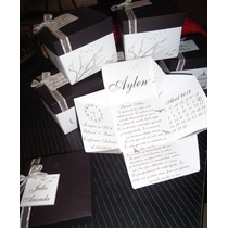 Originales Invitaciones - Cajitas Desplegables!!