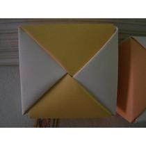 Caja En Origami Para Souvenir