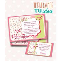 Tarjeta De 15 Para Imprimir - Invitación Y Personal Vanina