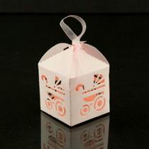 Cajas Para Velas Led Souvenir/bautismo/shower/ Boda
