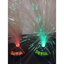 Centros De Mesa Para 15 - Eventos- Fibra Optica Artesanal X1