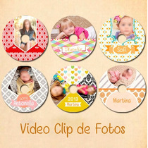 Video Clip De Fotos, Foto Historia Evento Baby Shower Bebe