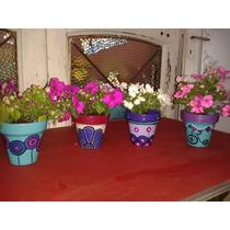 Souvenirs, Maceta Nro 10 Con Plantin A Partir De 20 Unidades
