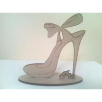 Zapatos Princesa Souvenirs Fibrofacil Laser Personalizados