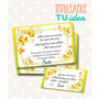 Tarjeta De 15 Para Imprimir - Invitación Y Personal Sarita