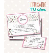 Tarjeta De 15 Para Imprimir - Invitación Y Personal Diana