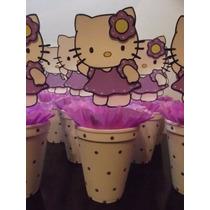 Centros De Mesa Kitty En Goma Eva