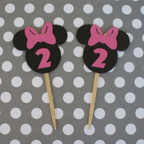 Cupcake Toppers Minnie