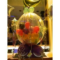 Burbuja Cristal Con 40 Globitos Para Englobar Tus Dijes .