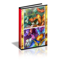 Kit Imprim. Mariposas Alta Definición-recortadas Para Diseño