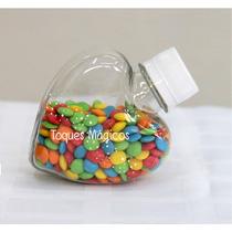 Envases Corazón Souvenir Candy Bar X 10 Unidades