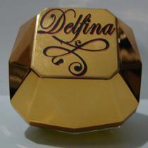 Diamante Top Lady Nombre Fecha Souvenir Perfume Frasco