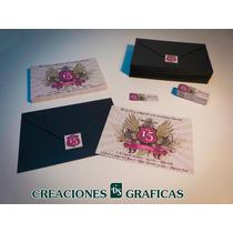 Tarjetas Invitaciones Para Cumpleaños De Quince