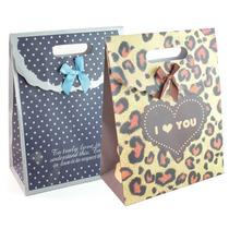 Bolsas De Cartón Con Abrojo Diferentes Diseños Y Tamaños