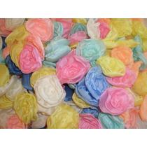 Flores De Tela, Souvenirs, Diseño, Deco Casamientos Cumpleañ
