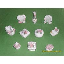 Lote De Porcelanas Esmaltadas