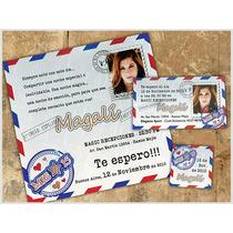 Tarjetas 15 Años Postcards Invitaciones Participaciones