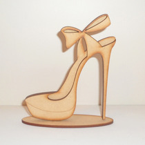 Zapato Souvenir 15 Años - Sin Pintar - 10 Unidades