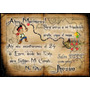 70 Tarjetas Cumpleaños 10x14 Cm. Bifaz Pergamino Pirata Jake