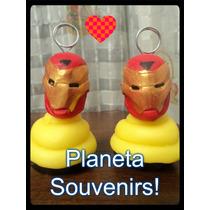 Cupcake Porta Foto! Souvenirs Y Decoracion! Ironman Avengers