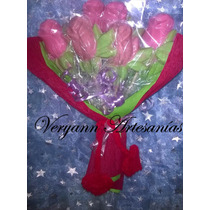 Rosas De Chocolate Souvenirs Cumpleaños Casamiento Comunión