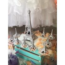 Souvenirs Torre Eiffel Metal 15 Años Bodas Local Comercial