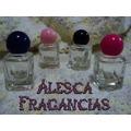 Envases, Frasco Vidrio, Perfumes, Sales, Souvenirs (x 10)