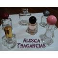 Envase Frasco Vidrio Cuadrado, Perfumes Souvenir Tapa Metal