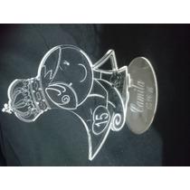 Souvenirs De 15 Anos En Acrílico Corte Laser Super Moderno.