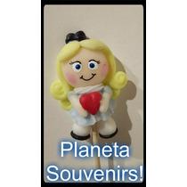 Alicia En El Pais De Las Maravillas Porcelana Fria Souvenirs