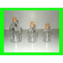 Envase De Vidrio Difusor Vial 100 50 Y 30cc Corcho Esencias
