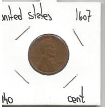 Estados Unidos Moneda Un Centavo De 1940
