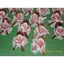 Lote Petalos De Rosa De Ceramica Para Souvenir