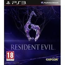 Resident Evil 6 + Theme Exclusivo Ps3 Tarjeta Digital