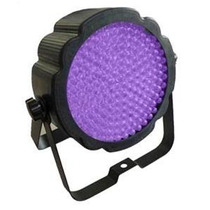 Tacho Pls Par 64 Led Plactico Flat Uv 177 Led 10mm Uv