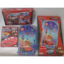 Flipper Cars + Cars Para Armar + Puzzle, 3x1 Imperdible!