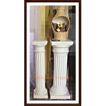 Columnas De Yeso Doricas 80cm X20cm