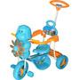 Triciclo De Bebe Ind Nacional Con Barra Direccional